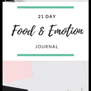 Emotional Eating Journal