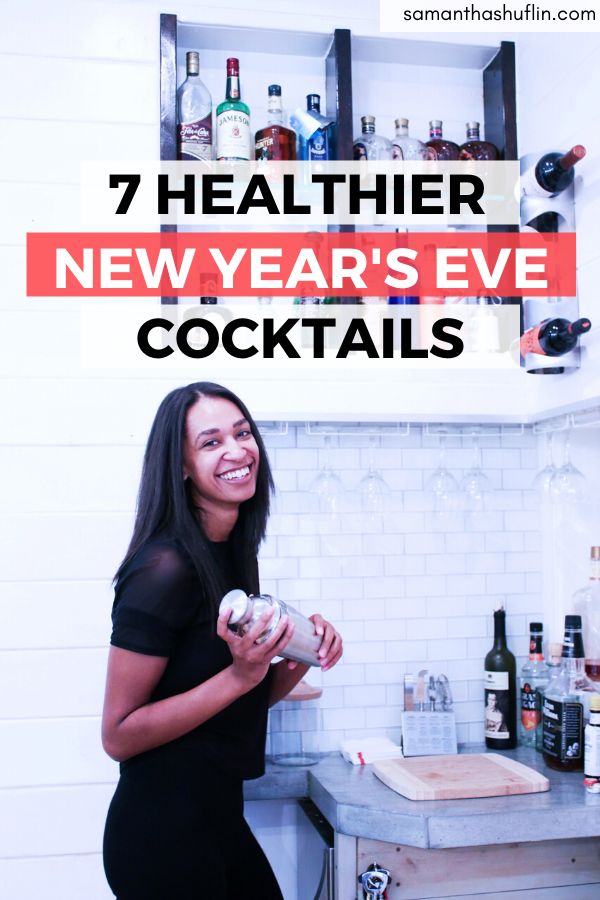 Healthier New Years Eve Cocktails