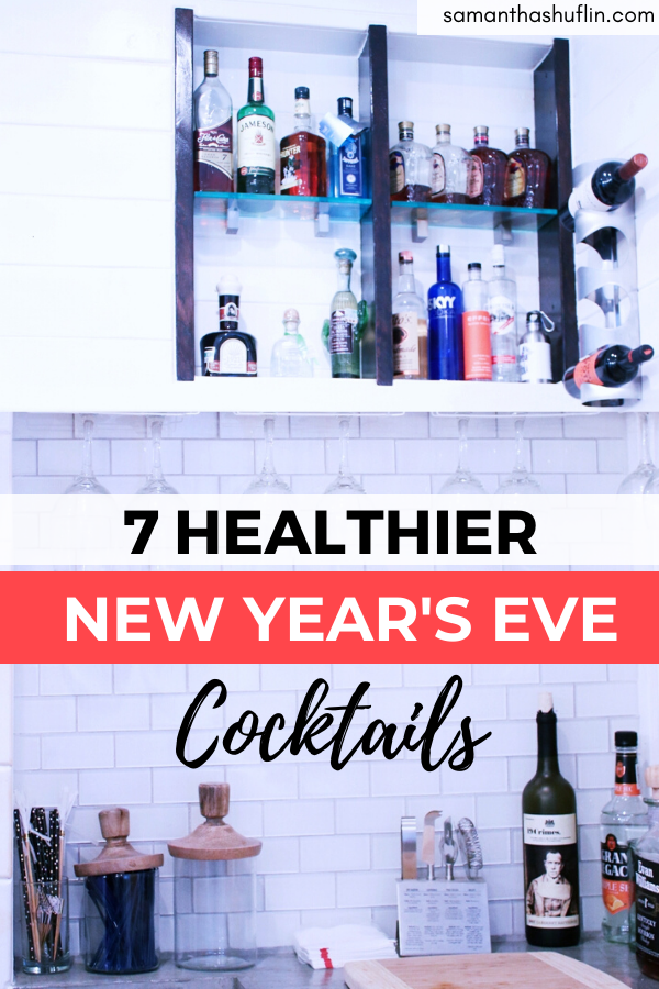 Healthier New Years Eve Drinks