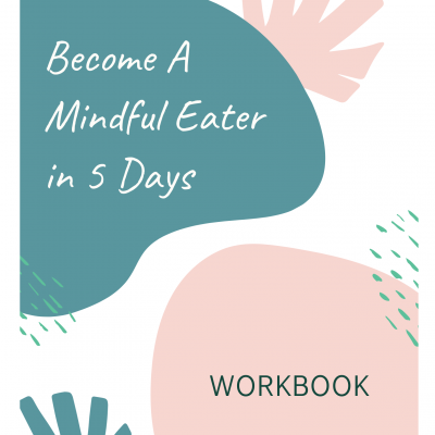 Mindful Eater Workbook Cover Page