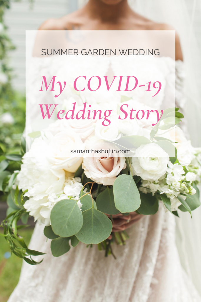 Intimate Summer Garden Wedding
