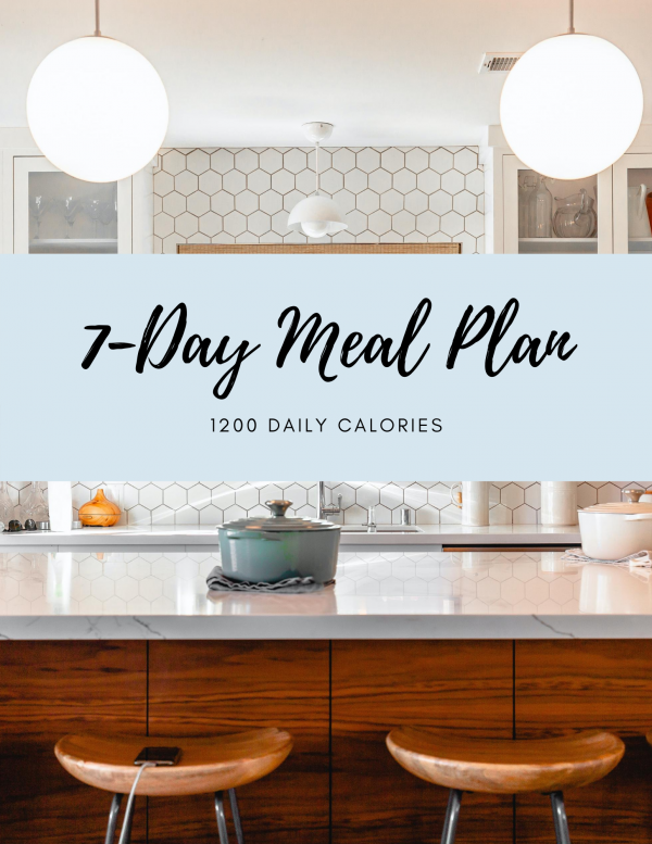 7-Day Meal Plan_1200 Calories_Samantha Shuflin Nutrition & Wellness