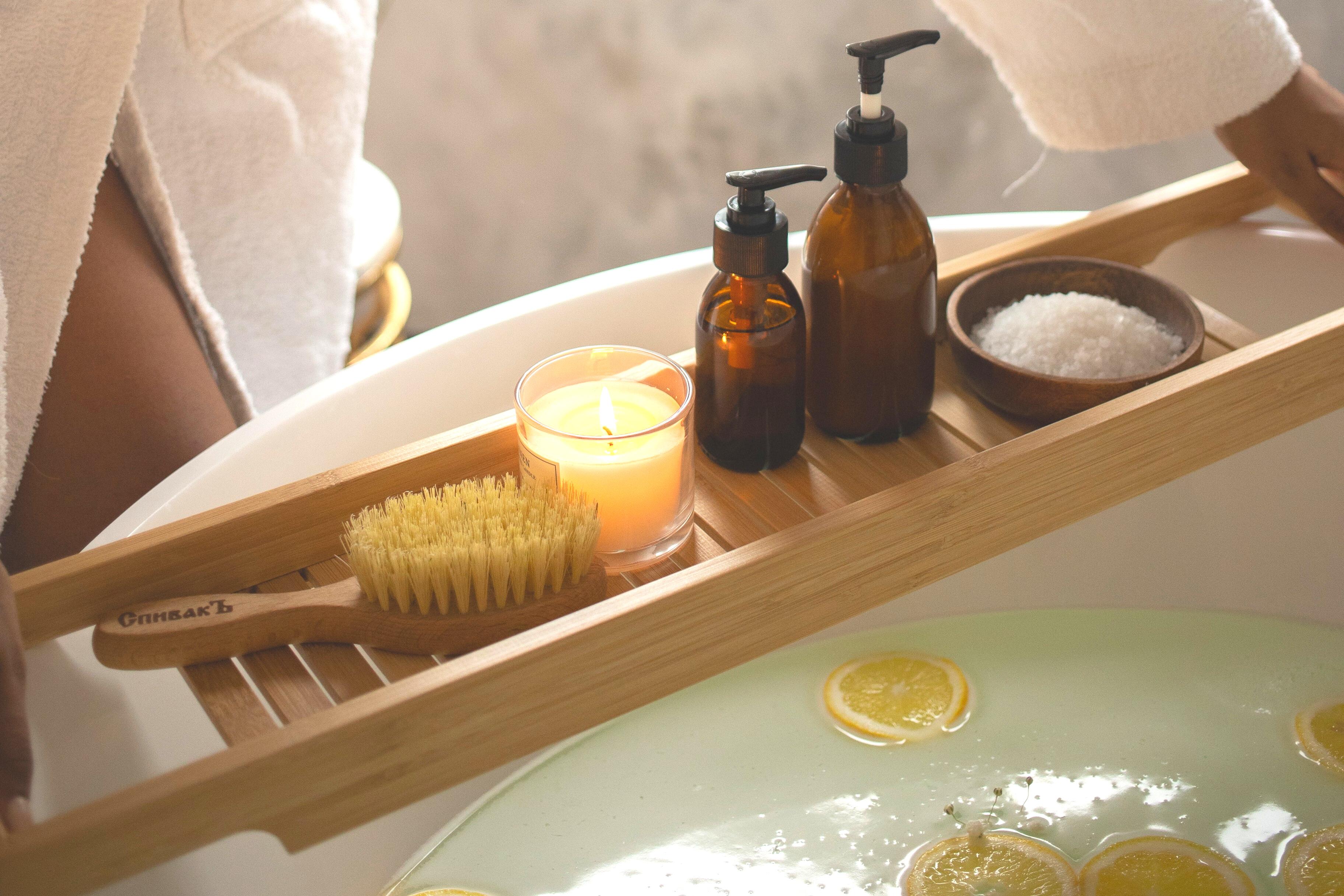 Essential Oil Bath Winter Wellness Ritual